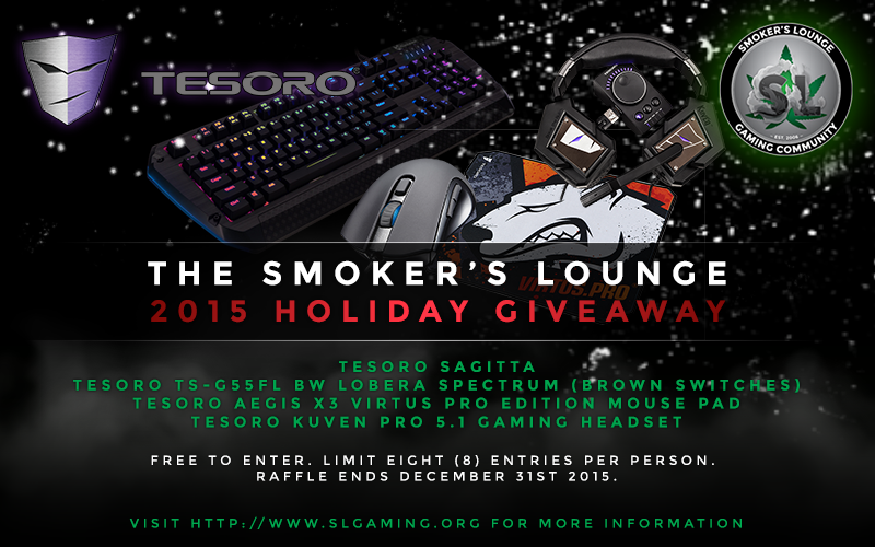 The Smoker's Lounge - 2015 Holiday Giveaway